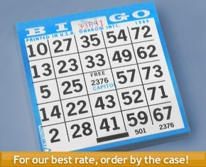 bingo game cards safety game 3000