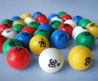 components bingo balls for safety game